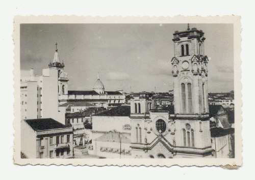 Vista da Igreja N. Sra. do Rosário